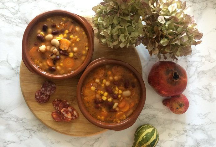 Quick and easy recipe for minestrone from Istria, Croatia